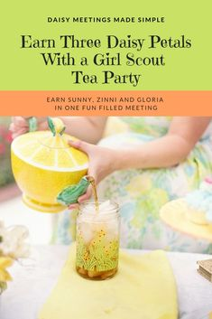 For Leaders Pressed for Time, Have a Girl Scout Tea Party and Earn Three Daisy Petals at Once *This post contains affiliate links. Girl Scout Swap, Girl Scout Leader, Girl Scout Troop, Scout Mom, Girl Scout Daisy Petals, Daisy Girl Scouts, Girl Scout Daisies, Girl Scout Daisy Activities, Girl Scout Crafts