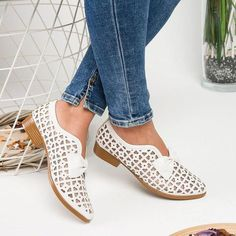 Oeak Drop Shipping Spring Bowtie Pointed Toe Women Shoes Woman Platform Slip On Loafers Leather Feminino Zapatos De Mujer Color Red Shoe Size 35 Casual Heels, Low Heels, Casual Loafers, Summer Boots, Spring Summer, Spring Shoes, Winter Shoes, Heeled Loafers, Women's Loafers