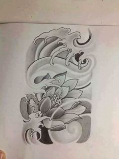 japanese with tattoos Japanese Flower Tattoo, Japanese Tattoo Designs, Japanese Flowers, Lotus Tattoo Design, Tattoo Design Drawings, Buddha Tattoos, Body Art Tattoos, Flor Oriental Tattoo, Octopus Tattoo Sleeve