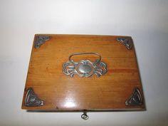 Art Nouveau sewing box
