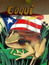 Coqui's are soo cute Puerto Rico Island, Puerto Rico Food, Spanish Heritage, My Heritage, Heritage Month, Gangster Drawings, Puerto Rico Pictures, Puerto Rican Flag, Puerto Rican Culture