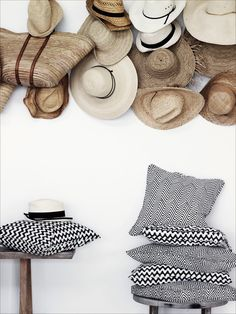 hats and pillows #designeveryday