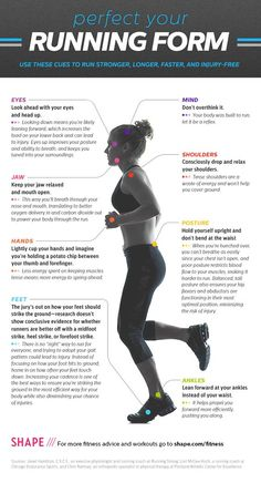 How to perfect your #running form! #runner #runningtips #marathon