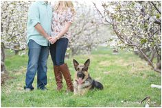 Cherry Ranch Engagement with Cherry Blossoms in full bloom!