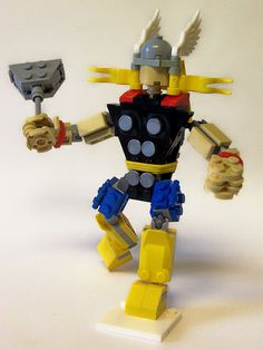 Thor of Asgard Sentinel Series by monsterbrick, via Flickr
