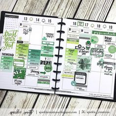 This is soooo late, but here's my week, March 13 - 19, 2017 in my personal planner. *I realized I have 5 old PWM videos filmed that need to be edited.  #sobehind* Regardless, happy it's Friday and hope you're rocking the green ☘️today! #greenismyfavoritecolor • #sparklecreationshappyplanner  #cricketpaperco #sweetstampshop #kellypurkey #kellypurkeyshop #studiol2e #plannersociety #techniquetuesday