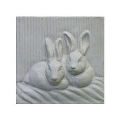 Tile Rabbit Series from Gooseneck Designs