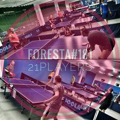 Turneul săptămânal #FORESTA etapa 181: 21 jucători #pingpong #tenisdemasa #asztalitenisz #tabletennis #tischtennis #oradea