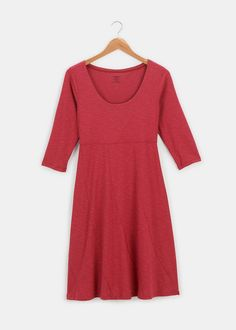 Natural organic clothes are not all created equal. Shop organic cotton clothing from Rodale's for a natural difference. Scoop Neck Dress, Sustainable Clothing, Fall Looks, Fair Trade, Dress Skirt, Organic Cotton, Autumn Fashion, Short Sleeve Dresses, Clothes For Women