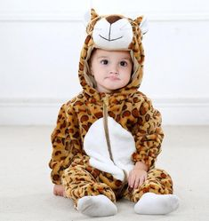 Weant Newborn Clothes Outfits Onesie Bear Dot Hood Romper Jumpsuit with Feet for Baby Girl Boy