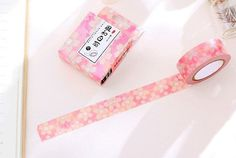 10m Sakura Washi Tape  Pink Sakura Flower  Masking por WILDSOUL19