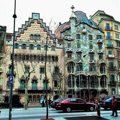Casa Amatller de Puig i Cadafalch barcelona -  Joyeria Bagues Paseo de Gracia 41- colindante con Casa Batllo-