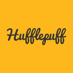 Check out this awesome 'Hufflepuff' design on @TeePublic!