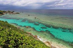 Coral Reef, the Higashi-Hennazaki Cape, Miyako Island, Okinawa by Teruhide Tomori, via Flickr