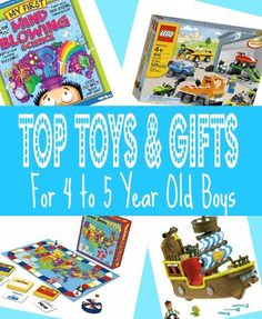 Best Toys & Gifts for 4 Year Old Boys in 2013 - Christmas, Birthdays and 4-5 Year Olds