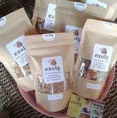 Varian Exoly Granola  Varian Exoly Granola  Exoly granola memiliki beberapa varian yaitu original cinnamon coconut dan choco banana. Mana yang paling kamu suka?  Untuk informasi dan pemesanan silahkan jangan ragu-ragu untuk menghubungi Exoly.  Tagged: bali banana choco cinnamon coconut denpasar exoly exoly kitchen granola original suka varian        https://exoly.com/2017/07/17/varian-exoly-granola/