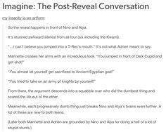 Imagine: The Post-Reveal Conversation
