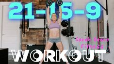 21-15-9 Devil Press and Box Step-Ups Workout | Sarah Grace Fitness - YouTube Total Body, Workout, Fitness, Youtube, Work Outs, Keep Fit, Health Fitness, Youtube Movies, Rogue Fitness