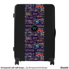 Steampunk 13A-13B Image Options Luggage