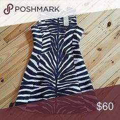 Michael Kors Brown Animal Print Dress 10 NWT Excellent condition Michael Kors Dresses