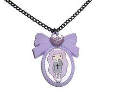Tumblr Girls Pastel Goth Kawaii Cute by KitschBitchJewellery, $11.99