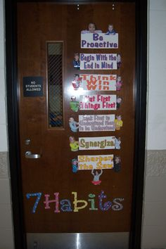 Classroom discipline on pinterest 7 habits leader in me for 7 habits decorations