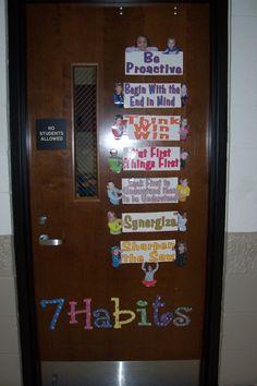 Classroom discipline on pinterest 7 habits leader in me for 7 habits decorations