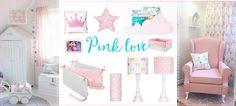 Cudne LAMPY, akcesoria, meble... Lamps&Co / Novelies / Pinio - zapraszamy! Pink Love, Toddler Bed, Furniture, Home Decor, Child Bed, Decoration Home, Room Decor, Home Furnishings, Home Interior Design