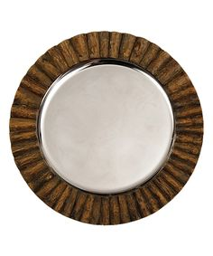 Look at this #zulilyfind! Log Cabin Charger Plate by Napa Home & Garden #zulilyfinds