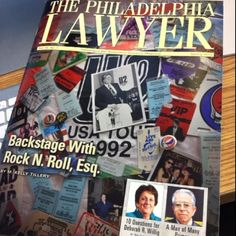 The Philadelphia Lawyer is the magazine I design at work. This is an early copy of the latest edition.
