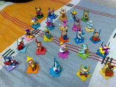Hanna Barbera Bonecos Cartoon Rock Stars Brinquedo - R$ 400,00 no MercadoLivre