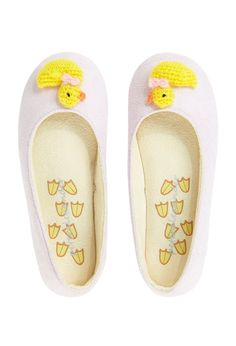 Image for Knitted Ducky Slippers from Peter Alexander cute little Easter gift