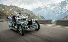 Rolls-Royce 2013 Centenary Alpine Trial 1908