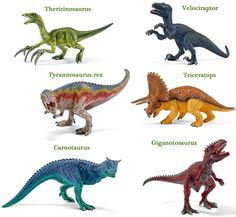 New small dinosaurs models (Schleich) which will be available from Everything Dinosaur when this range is launched in July 2015.  Lots of meat-eaters in this range.
