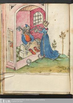37 [16v] - Ms. germ. qu. 13 - Salman und Morolf - Page - Mittelalterliche Handschriften - Digitale Sammlungen [S.l.], [1479; 15. Jh. 2. Drittel]