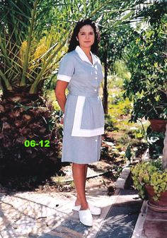 Housekeeping Uniform, Staff Uniforms, Housecoat, Maid Uniform, Maid Dress, Beautiful Girl Image, Shirt Dress, Blouse, Aprons