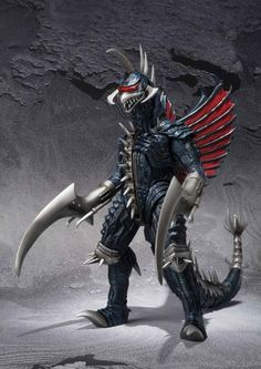 The Gigan that got upgraded after the original was unearthed, I think.