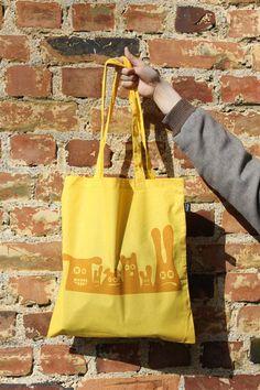 Thingie tote bag yellow