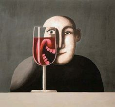 A glass of wine goes a long way.