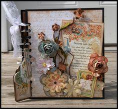 Rodriguez Designs: Secret Garden Mini Album Class