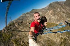 Maior balanço da Nova Zelândia: Nevis Swing em #Queenstown: prepare seu coração para muita adrenalina!  #melhorestours #viatorbr