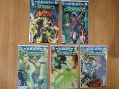 Green Lanterns - Red Planet - Complete Arc (5 Comics)