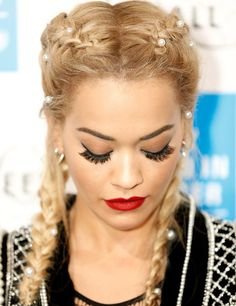 53 Box Braids Hairstyles That Rock - Hairstyles Trends Boxer Braids Hairstyles, French Braid Hairstyles, Up Hairstyles, Hairstyle Ideas, Rita Ora, French Braid Styles, Penelope Cruz, Hair Trends, Her Hair