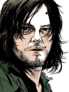 Daryl Dixon fan art