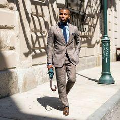 Bryson Tassel Slip On // Brown Suits For Men, Linen Suit, Johnston Murphy, Social Media Channels, Dapper, Personal Style, Menswear, Mens Fashion, Blazer
