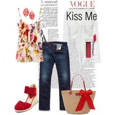 Kiss Me, created by charlotte-bilton-carver on Polyvore