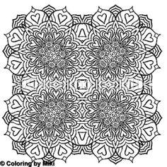 Kaleidoscope Mandala Coloring Page 351 #coloring #coloringforadults #pattern #模様 #design #ぬりえ #大人の塗り絵 #おとなのぬりえ #art #アート #illustration #coloriage #コロリアージュ #coloringpages #zentangle #ゼンタングル #kaleidoscope #mandalas #mandalaart #mandalatattoo #曼荼羅 #マンダラ #万華鏡