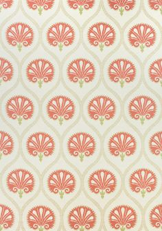 KIMBERLY, Tomato, F985016, Collection Greenwood from Thibaut