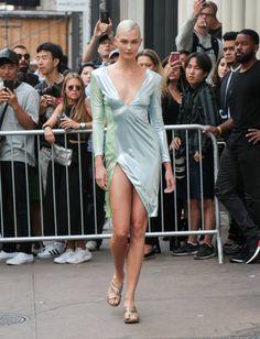 Karlie Kloss is seen on September 12 2017 in New York City