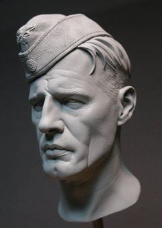 Found this lurking in the same folder, another old scale wax portrait. Zbrush Character, Character Modeling, Character Art, 3 4 Face, Male Face, Head Anatomy, Sculpture Head, Digital Sculpting, Modelos 3d